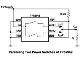TPS2062 / 2062 QFN8 - power switch (2 канала), фото 5