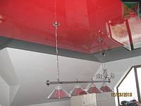 Натяжной потолок в бильярдной