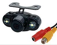 Универсальная видеокамера заднего хода E400 с подсветкой, фото 1
