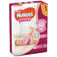 Подгузники-трусики Huggies Pants для девочек 3 (6-11 кг), Mega Pack 58 шт