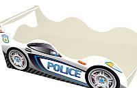 """Кровать машина серия """"Драйв"""" модель Полиция  для детей и подростков, с бесплатной доставкой в Ваш город"""
