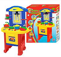 Детская игровая кухня 3, игровой набор детская кухня 10 Технок 2124