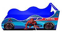 """Кровать машина серия """"Драйв"""" Человек Паук Spiderman  для детей и подростков, бесплатная доставка в Ваш город"""