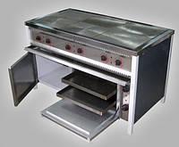 Промышленные электрические плиты ПЭ-6ШЧ с жарочным шкафом