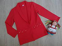 Кардиган - пиджак для девочки р.140 -152 146