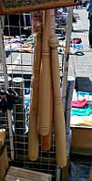 Бита бейсбольная деревянная 70 см.