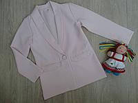 Кардиган - пиджак для девочки р.134 -152