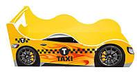 """Кровать машина серия """"Драйв"""" модель Такси для детей и подростков, с бесплатной доставкой в Ваш город"""
