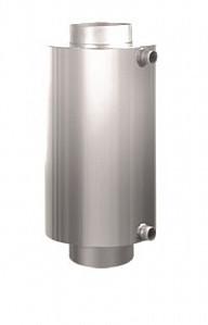 Теплообменник-регистр ф115 мм из нержавейки