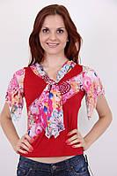 Блуза Циганочка 0655 (красный)