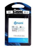 Аккумулятор для Nomi i501