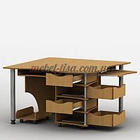 Компьютерный стол Тиса-4 (Эксклюзив-4) Тиса-Мебель, фото 1