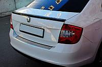 Спойлер багажника ( лип спойлер, сабля, утиный хвостик) Skoda Rapid 2012+ г.в. Шкода Рапид