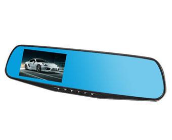 Видеорегистратор зеркало DVR L9000 Blue box 1388EH ZD