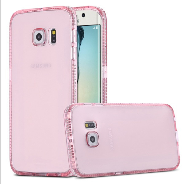 Чехол для Samsung Galaxy S6 Edge G925 силиконовый со стразами