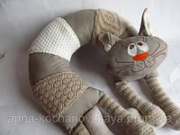 """Подушка для авто """"Уютный кот """""""