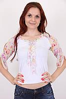 Блуза Циганочка 0651 (белый)