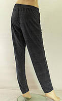 Женские брюки больших размеров ткань масло, цвет тёмно-синий.