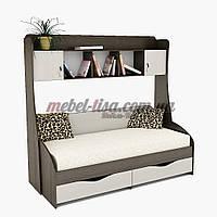 Кровать Вектор + Надстройка ПК-3 Тиса-Мебель, фото 1