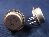 2Т808А транзистор NPN (10А 120В) 60W кремниевый мезапланарный переключательный