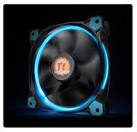Корпусный вентилятор Thermaltake Riing 12_120мм_ 1500об/мин_3pin_24.6dBA_Blue LED (CL-F038-PL12BU-A)