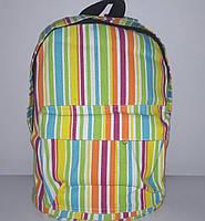 Рюкзак женский текстиль полоса