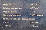 Бензокоса Урал УБТ-5800 (5800 Вт), фото 3