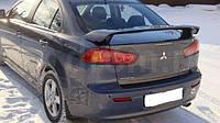 Спойлер багажника Mitsubishi Lancer X 2007+ Митсубиши Лансер Х