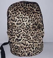 Рюкзак женский  текстиль леопард