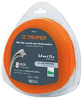 Струна для тримера 2,4мм 15м TRUPER  HTA-95