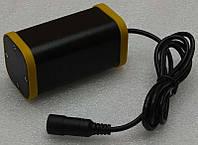 Аккумуляторный блок для велофары герметичный алюминиевый 8,4В с защитой 2400 мАч внешний аккумулятор