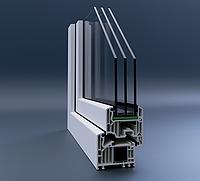 Металлопластиковые окна Veka Softline82