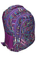 Рюкзак Safari 9769, 3 отдела 43х30х19см, 840 PL, уплотненная спинка