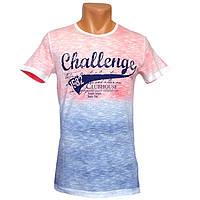 Красивая мужская футболка Challenge - №2230, Цвет разноцветный