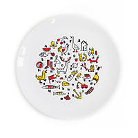 Детская тарелка Алфавит развивающая