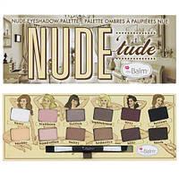 Палетка теней Nude Tude от The Balm
