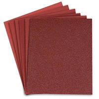 Бумага наждачная, оксид алюминия, Дерево, тканевая основа, 230х280мм, 3 листа, зерно 100 Truper.LIMER-100