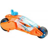 Hot Wheels Машинка Турбоскорость оранжевая Speed Winders Twisted Cycle Vehicle Orange
