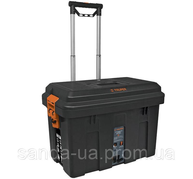 Кейс для инструментов, Rolling 640х380х460мм 7,3кг Truper .CHP-25R