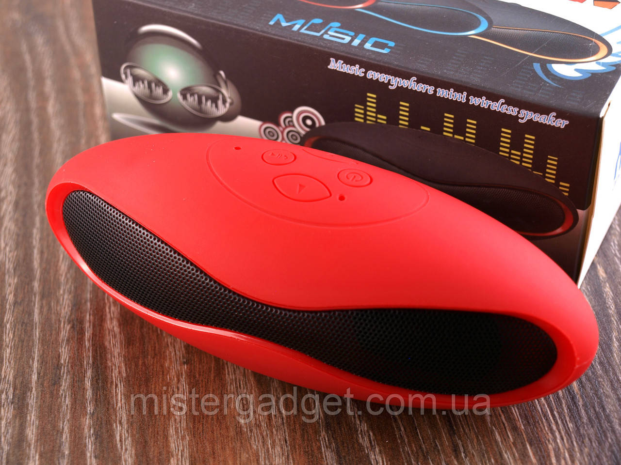 Колонка портативная Mini X6 Красная Bluetooth