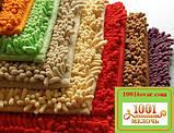 """Набор из 3-х ковриков из микрофибры """"Макароны или дреды"""" в ванную 80х50 см. и туалет 40х50 см., 45х35 см., фото 9"""