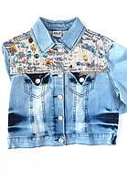 Джинсовая куртка на девочку Alf 24