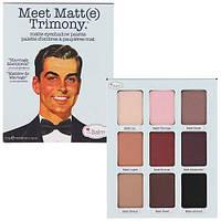 Палетка матовых теней The Balm Palettes Meet Matte Trimony