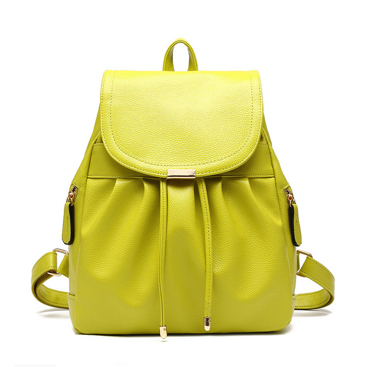 4e88ec7a573e Женский городской рюкзак. Стильные женские рюкзаки в четырех цветах:  красный, черный, бежевый, синий, желтый.