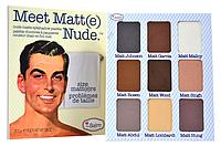 Палетка матовых теней  Meet Matte Nude Eyeshadow Palatte от The Balm