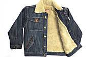 Джинсовая куртка на меху на мальчика Bandido 79