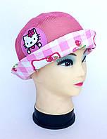 Детская шляпка Hello Kitty розовая