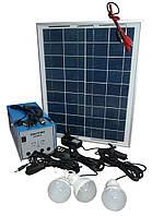 Аккумулятор на солнечной батарее Solar Home System GDLite GD-8018 для автономного электроснабжения