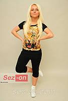 Костюм женский трикотажный 3D тигр