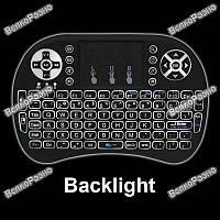 Беспроводная клавиатура  с подсветкой. Клавиатура.